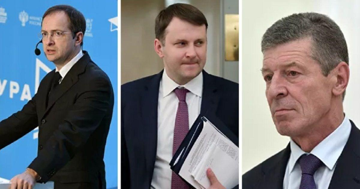 Фото Мединский, Орешкин и Козак получили новые назначения