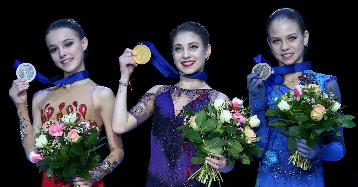 Фото Оглушительный успех: Российские фигуристки заняли весь пьедестал ЧЕ