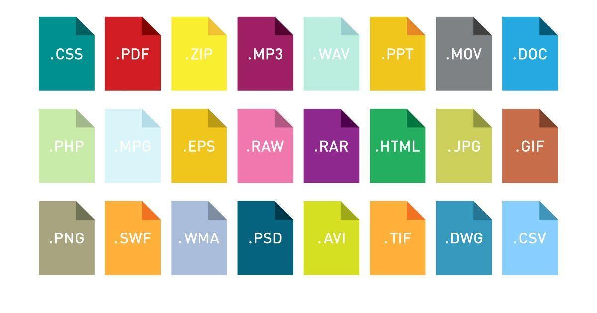 Фото Что такое файл и расширение файла. Какими бывают файлы и расширения