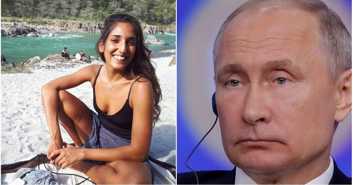 Фото Путин помиловал израильтянку Нааму Иссахар