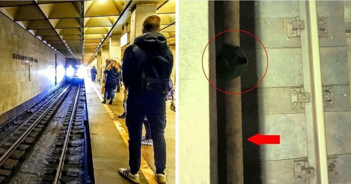 Фото Не подавай руку упавшему на рельсы. Чего не знают пассажиры метро