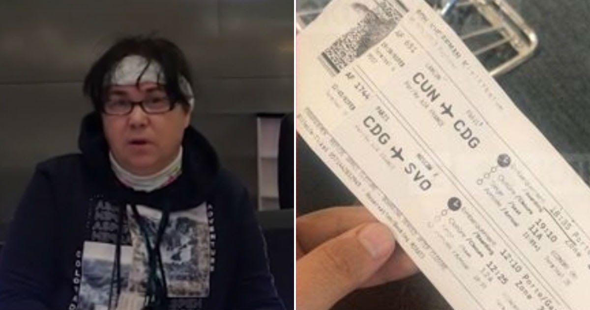 Фото Самолет не смог улететь из Парижа в Москву из-за потасовки пилотов