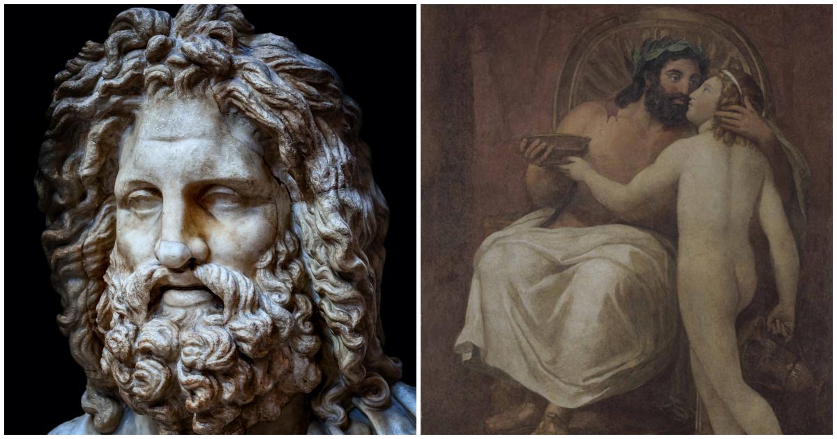 Фото Зевс: олимпийский бог, статуя и храм Зевса. Богом чего был Зевс?