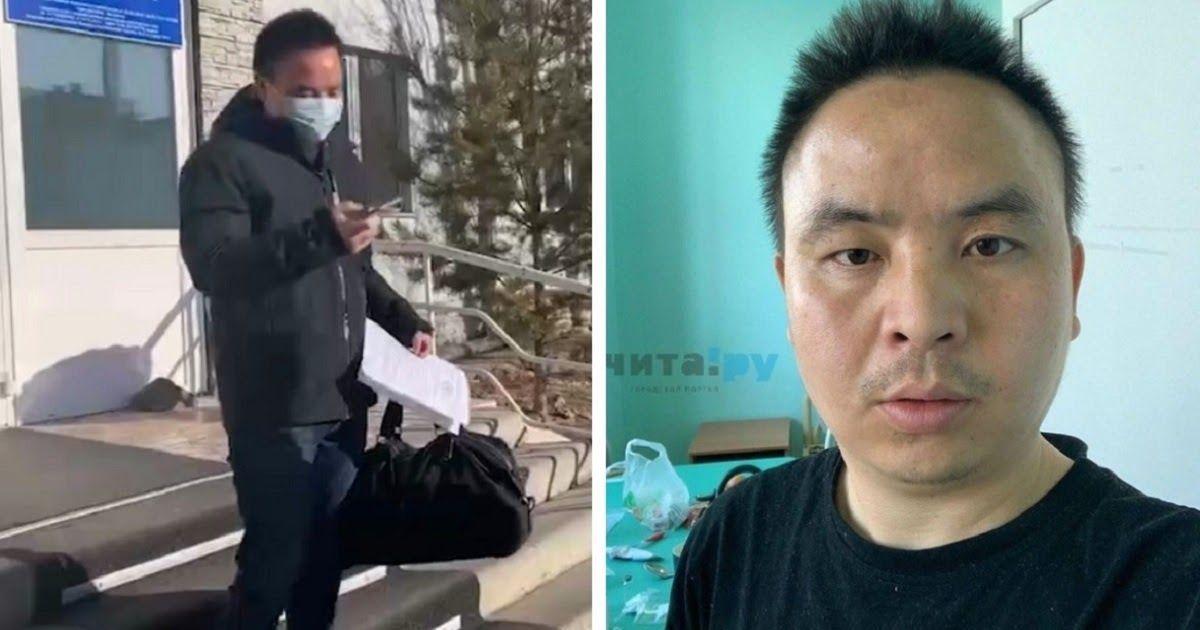 Фото В Чите вылечили от коронавируса китайца, недовольного условиями в больнице
