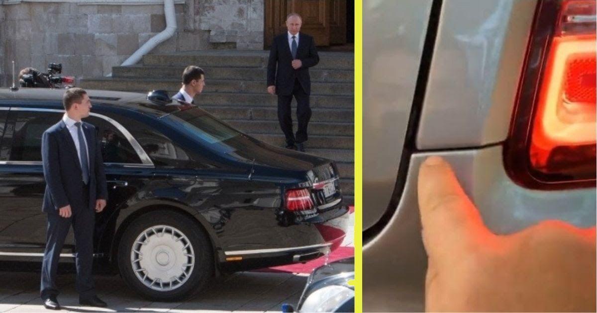 Фото «Помойка» за 18 млн. За что критикуют лимузин Aurus «как у Путина»