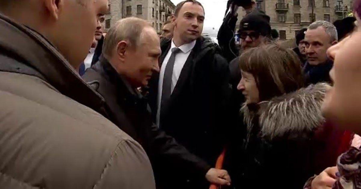 Фото Женщина спросила Путина, как прожить на 10 тысяч. Он ответил: