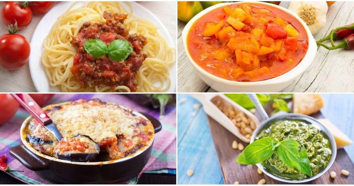Фото Подборка рецептов итальянской кухни
