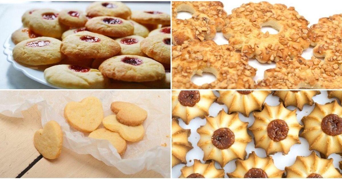 Фото Подборка рецептов песочного печенья