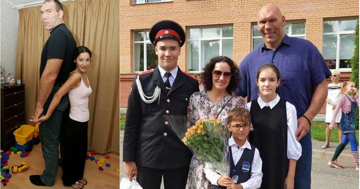 Фото Валуев рассказал о жизни с женой, которая ниже него на полметра
