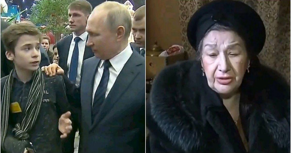 Фото СМИ нашли бабушку Миши, который ради нее добрался до Путина