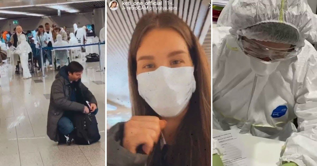 Фото Граница (не) на замке? Как проверяют прилетающих из Италии на коронавирус