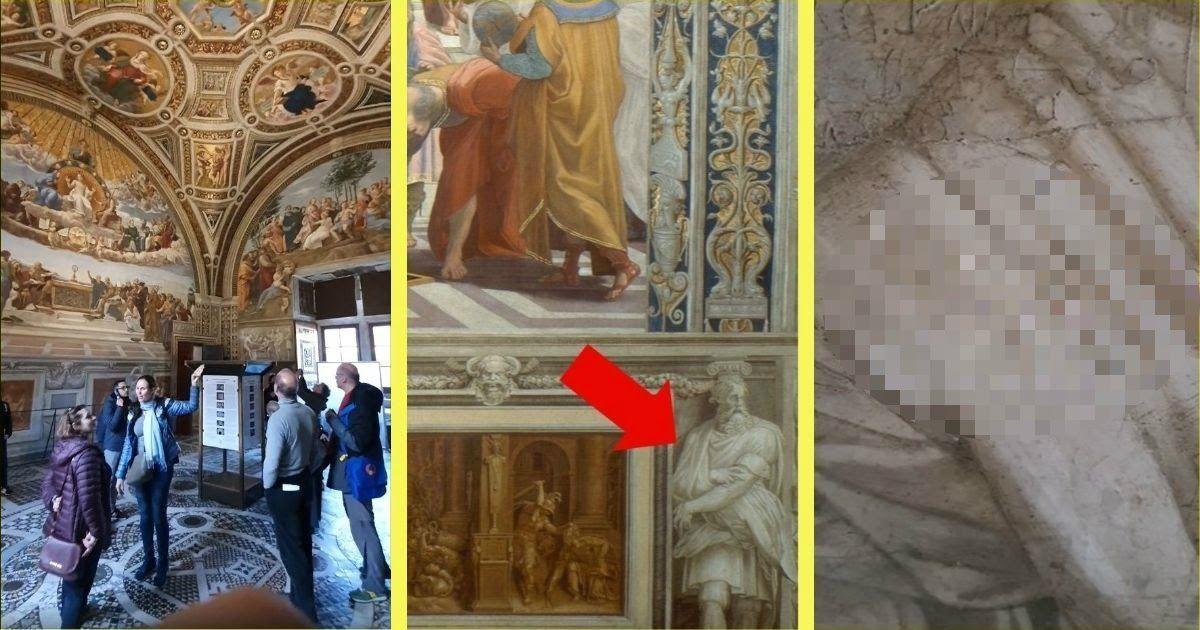 Фото «Лена Тамара Винница». Украинки испортили шедевр Рафаэля в Ватикане
