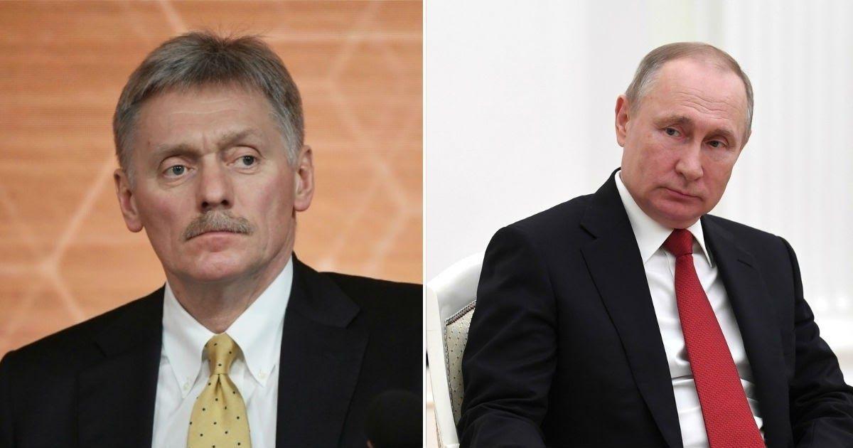 Фото Песков ответил, проверялся ли Владимир Путин на коронавирус