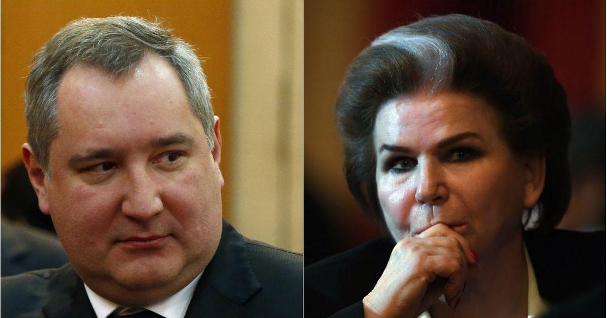 Фото Глава «Роскосмоса» Рогозин резко ответил критикам Терешковой и обнуления