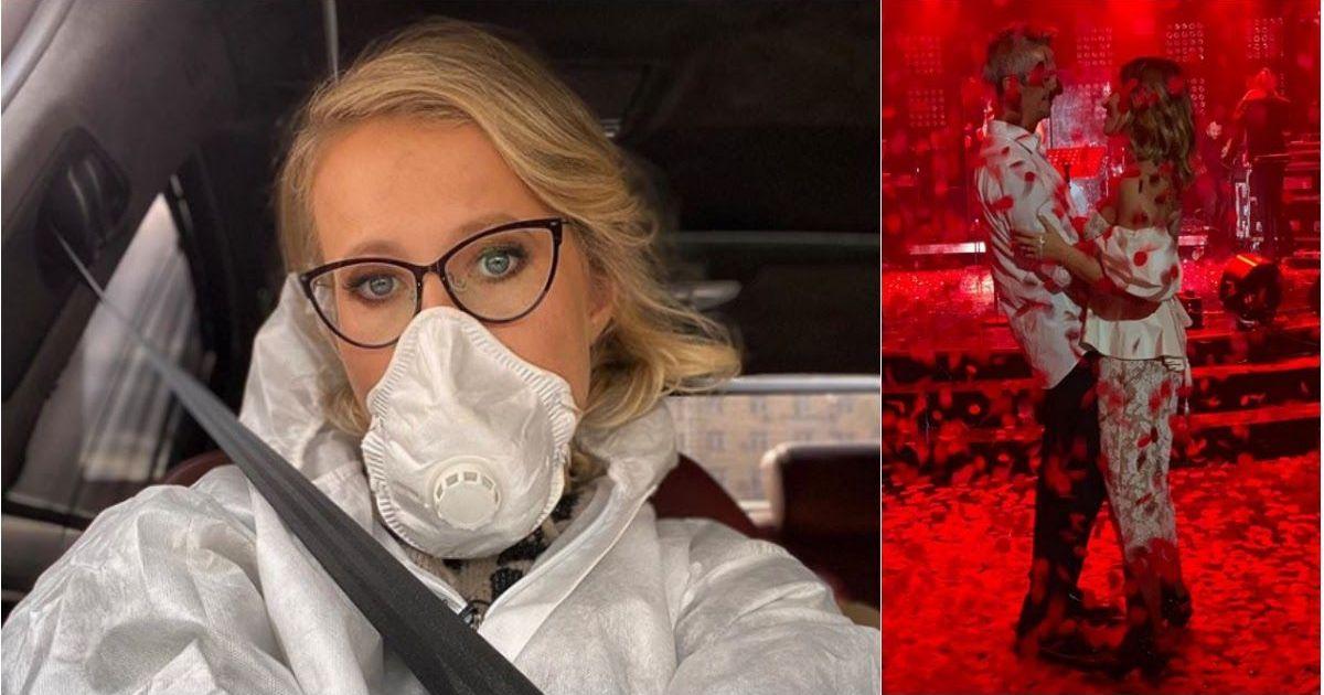 Фото «Наконец-то я спрятала челюсть»: Собчак рассказала о жизни на карантине
