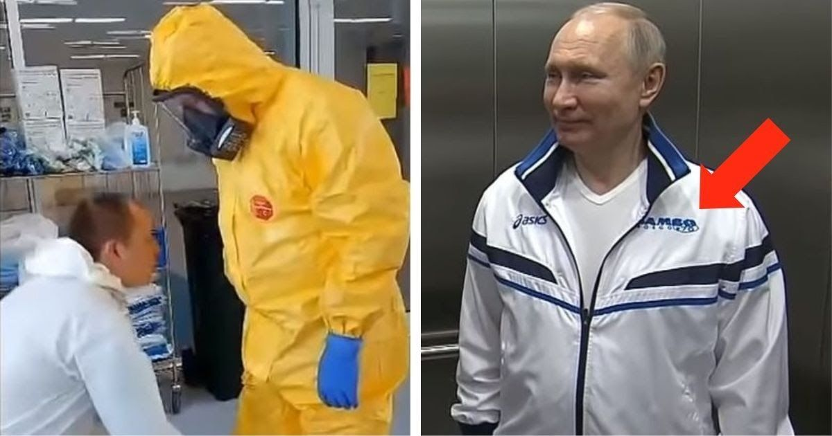 Фото Цена спортивного костюма Путина удивила соцсети. И не только она