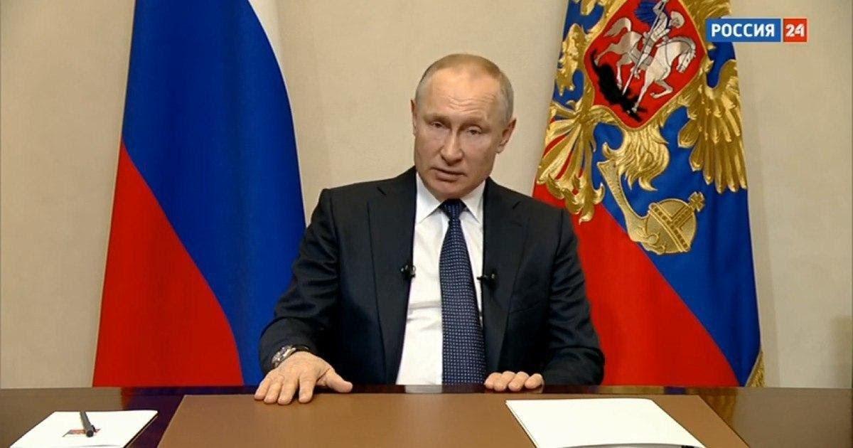 Фото Путин объявил налоговые и ипотечные каникулы в связи с коронавирусом