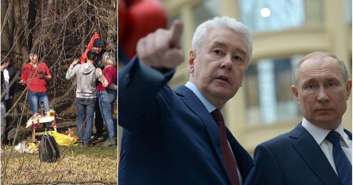 Фото В ярости от шашлычников: СМИ узнали, как Собянин решил закрыть Москву