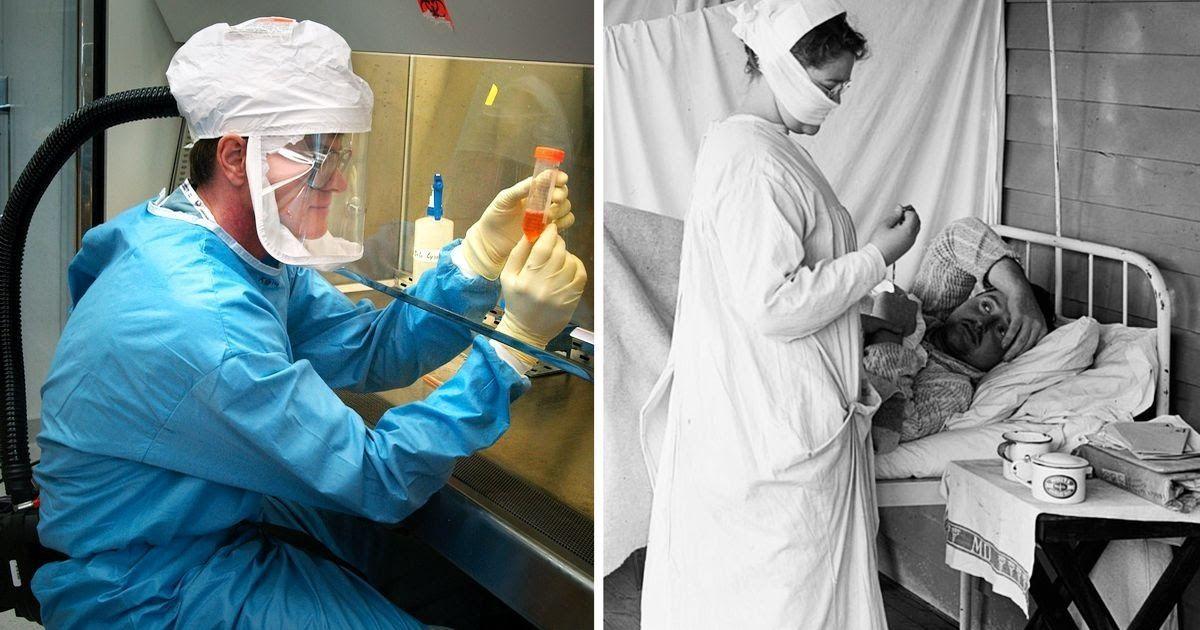 Фото Испанка - что это за болезнь? Как эпидемия испанского гриппа убила миллионы