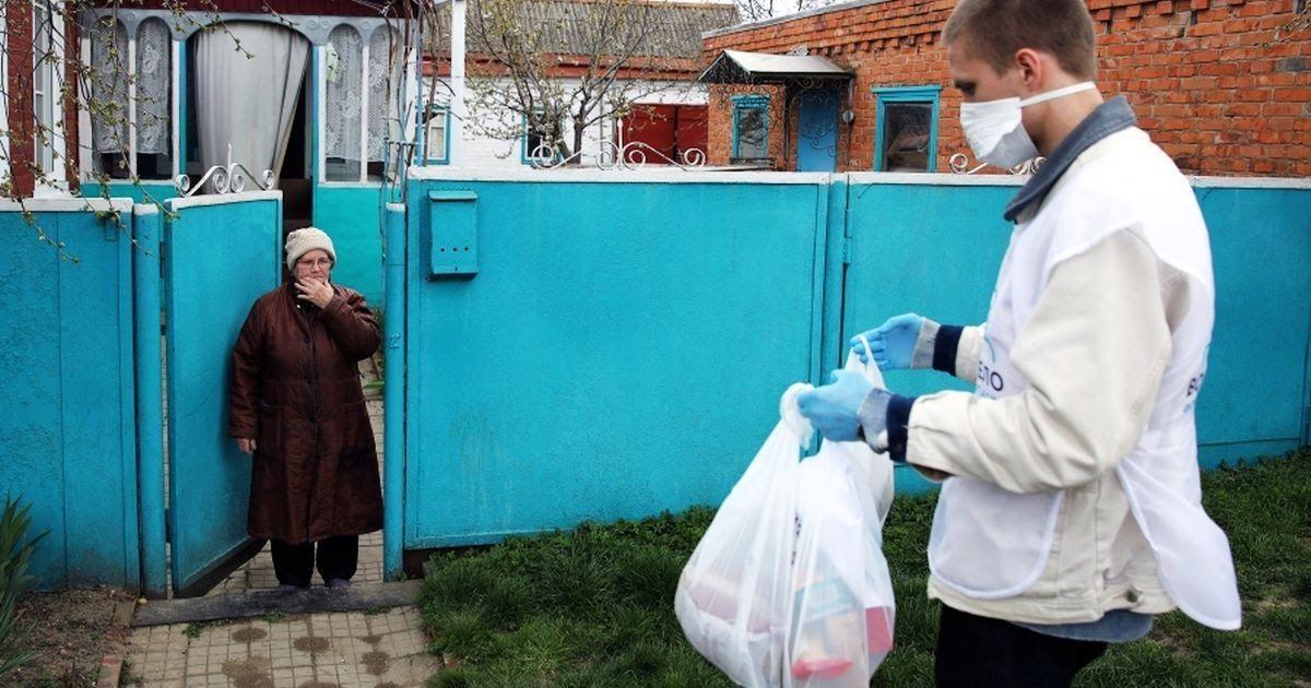 Фото «Ситуация страшная». Алешковский - о помощи нуждающимся во время пандемии
