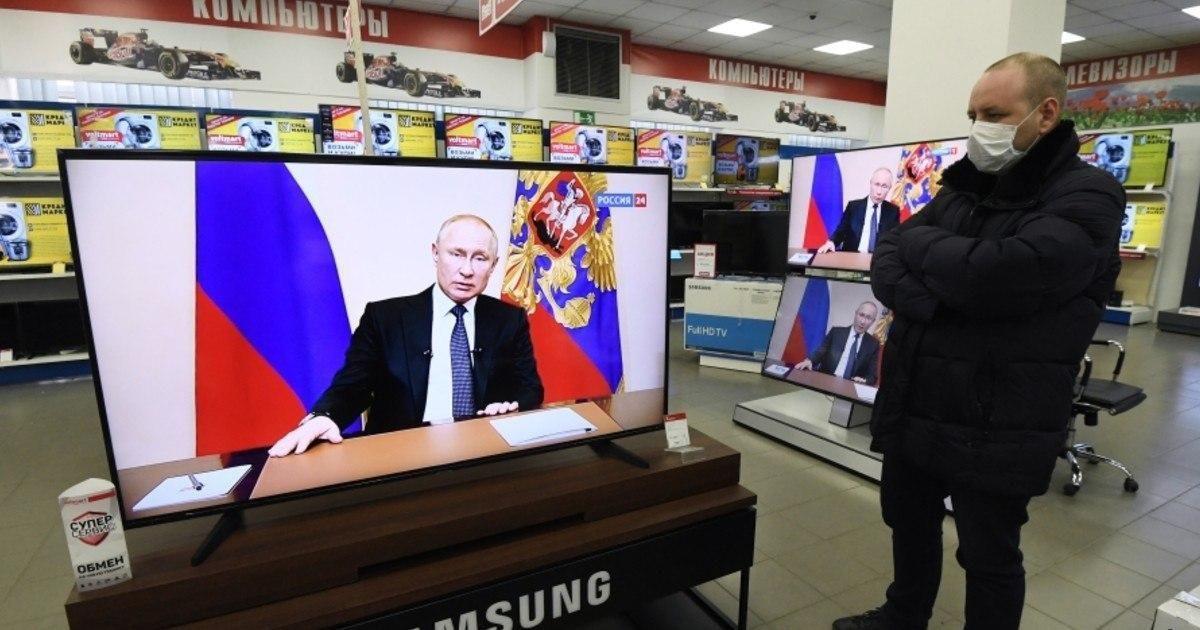 Фото Путин выступит с новым обращением к нации