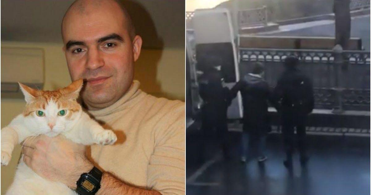 Фото Полиция задержала москвича во время выгула собаки на Патриарших