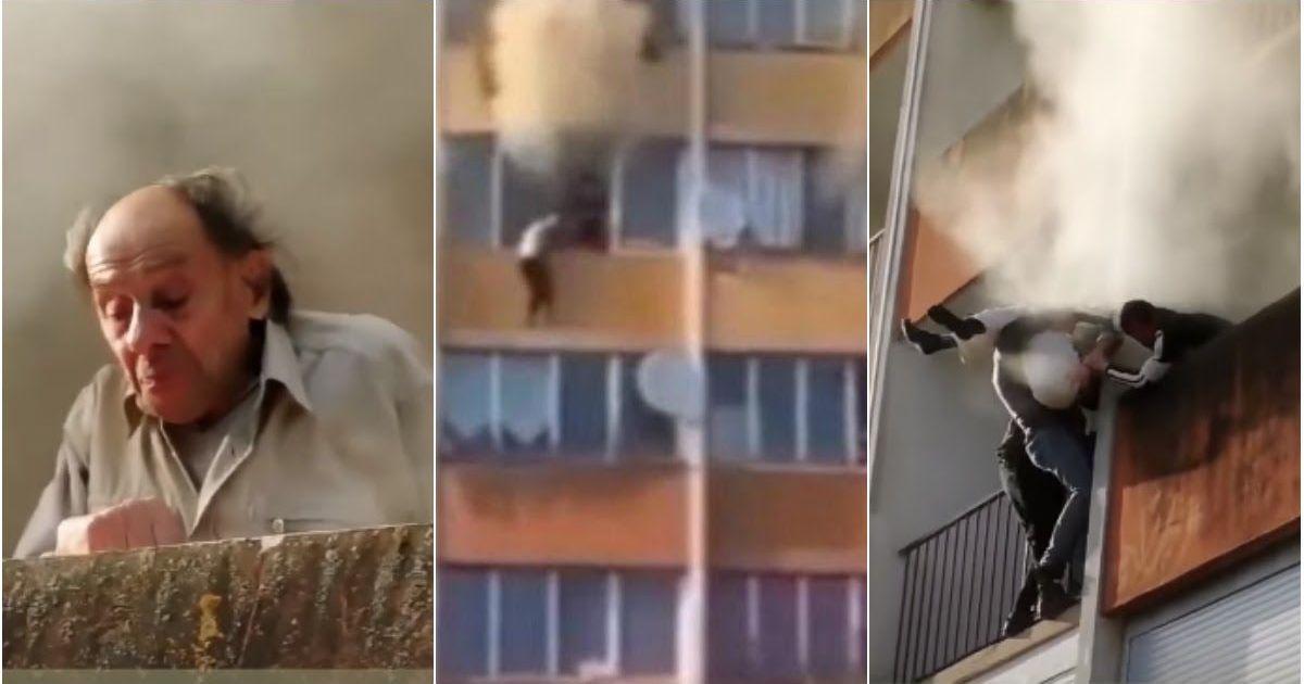 Фото Наши в Париже: россияне спасли людей из горящего дома
