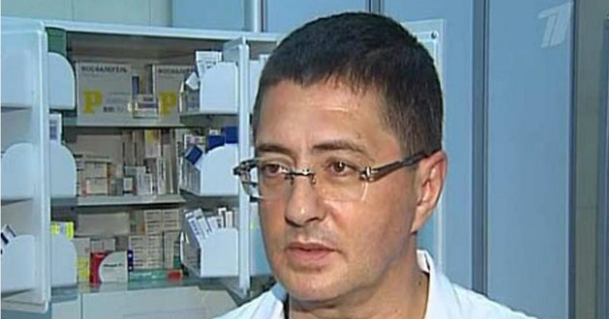 Фото Коронавирус у Мясникова: доктор рассказал, как подцепил заразу