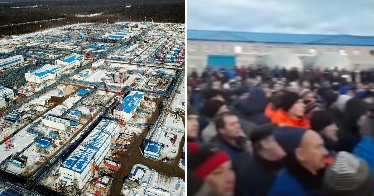Фото Вахтовики подняли «коронавирусный бунт» на месторождении «Газпрома»