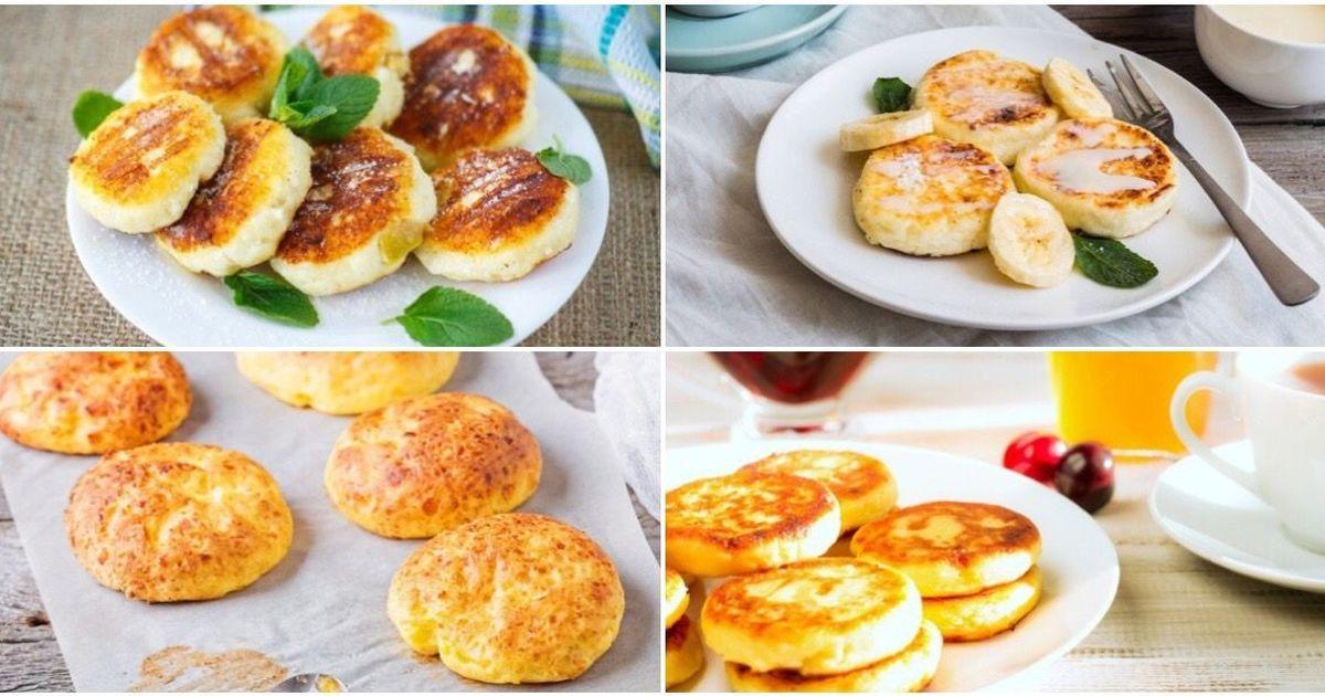 Фото 7 вариантов приготовления ароматных сырников