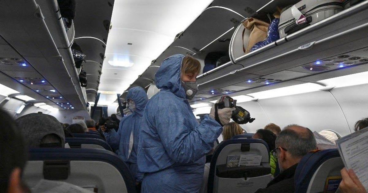 Фото Пассажирка рейса Москва-Нижневартовск скрыла, что больна коронавирусом