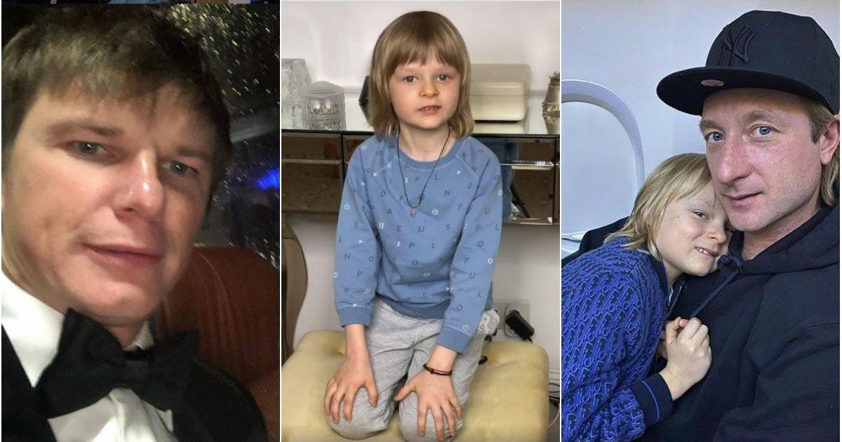 Фото «Я вам дурачок?»: 7-летний сын Плющенко ответил на критику Аршавину