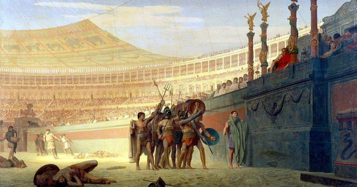 Фото Идущие на смерть приветствуют тебя, Цезарь - что это значит и как звучит на латыни