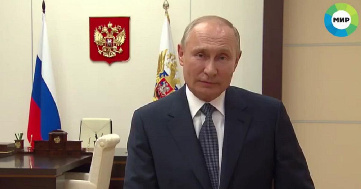 Фото Путин перед 9 мая напомнил, что у россиян в крови -