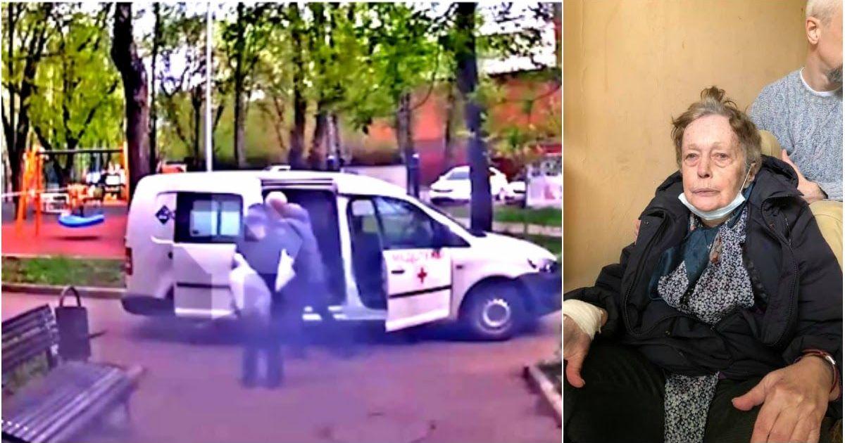 Фото Бросили на лавочке: скорая оставила пенсионерку у подъезда в День Победы