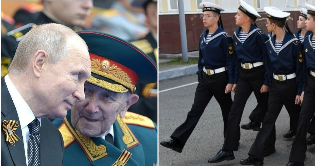 Фото СМИ: почти 400 участников репетиций парада Победы в Москве заразились