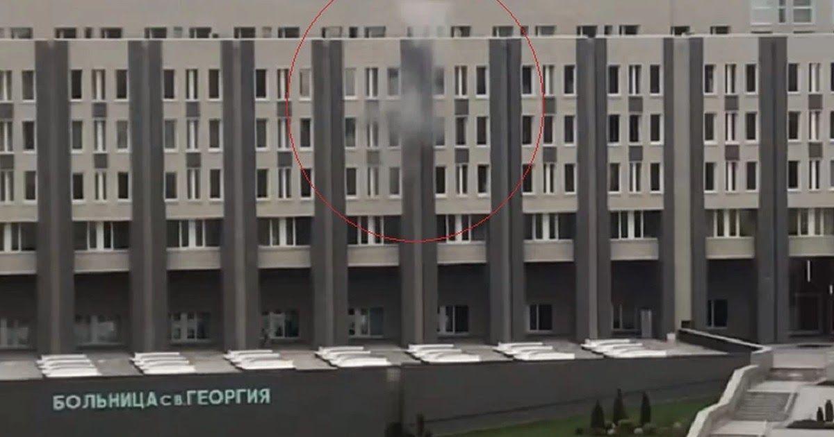 Фото Пожар в петербургской больнице: погибли пациенты с COVID-19 на ИВЛ