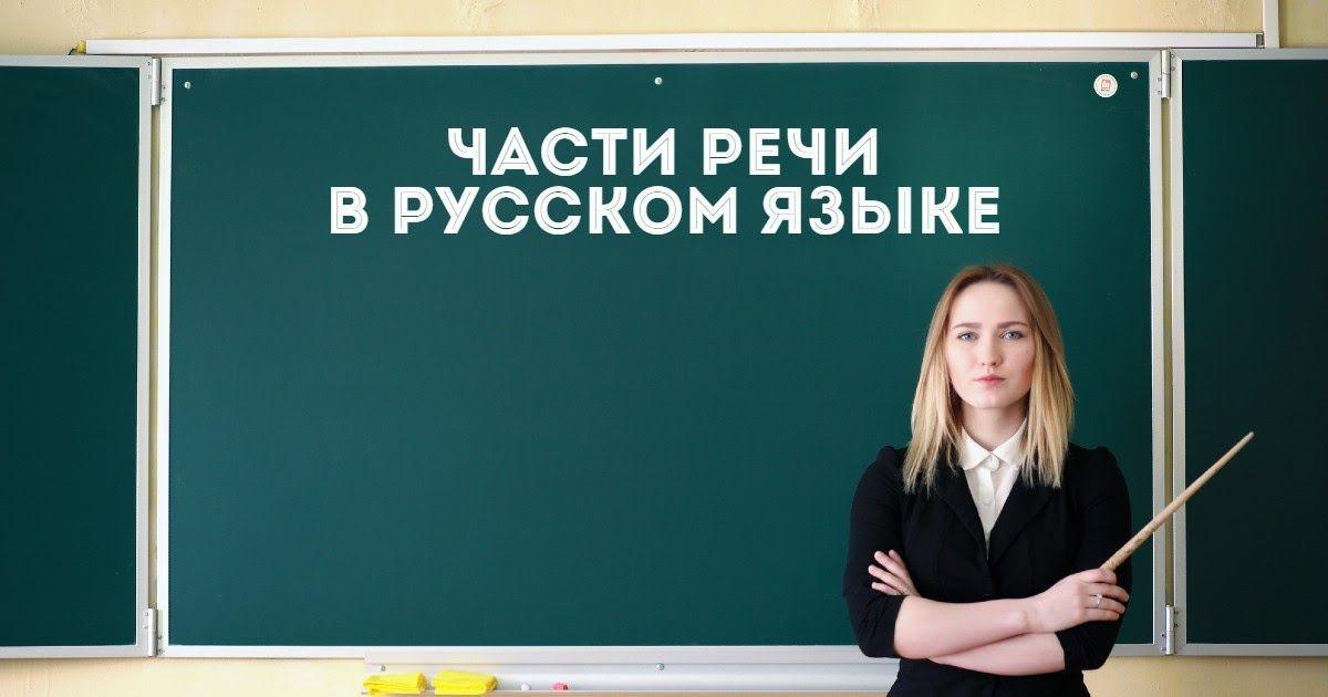 Фото Части речи в русском языке: самостоятельные и служебные части речи, примеры