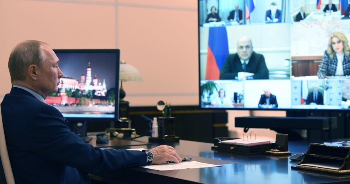 Фото Москве велено сидеть. Как понимать заседание у Путина и слова Собянина