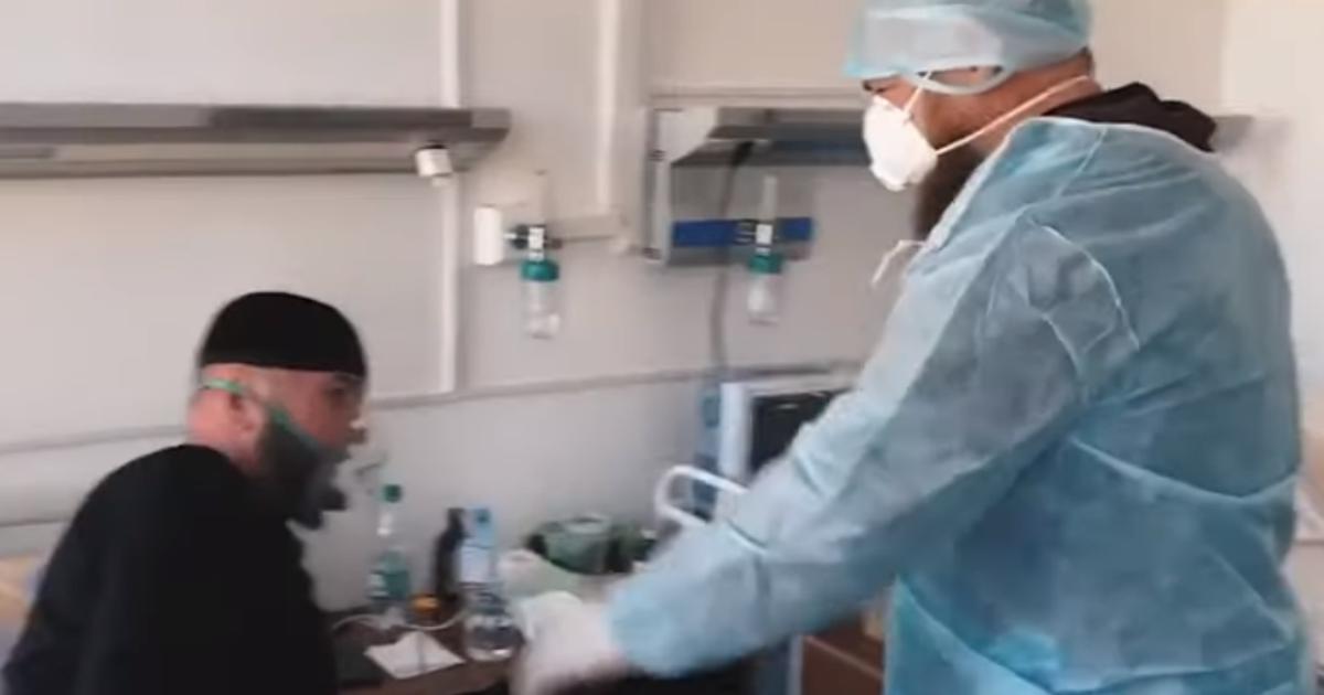 Фото Обнял больного друга: СМИ узнали, как Кадыров подцепил заразу в больнице