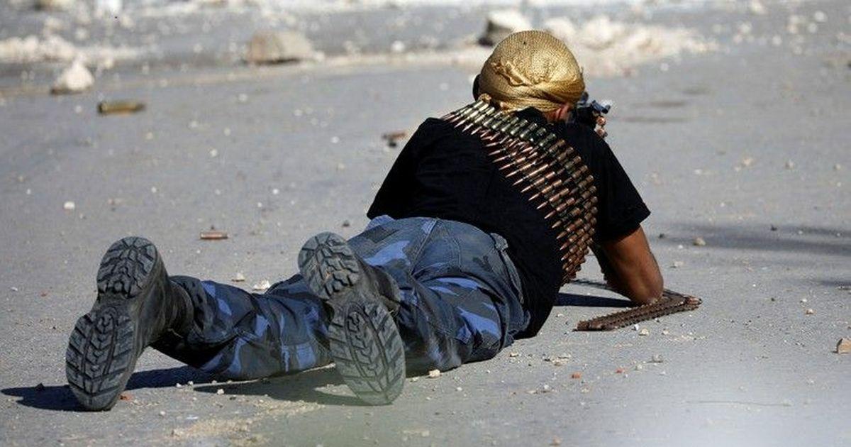 Фото 1600 бойцов ЧВК «Вагнер» покинули запад Ливии