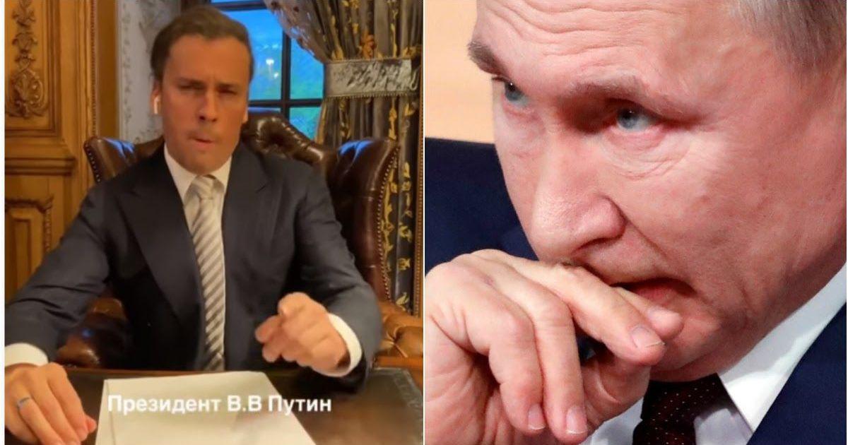 Фото СМИ по «звонку» удалили новость о пародии Галкина на Путина с Собяниным