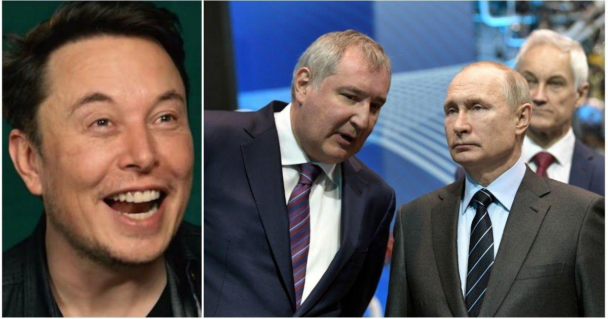 Фото «Батут работает»: НАСА и Маск в прямом эфире посмеялись над Рогозиным