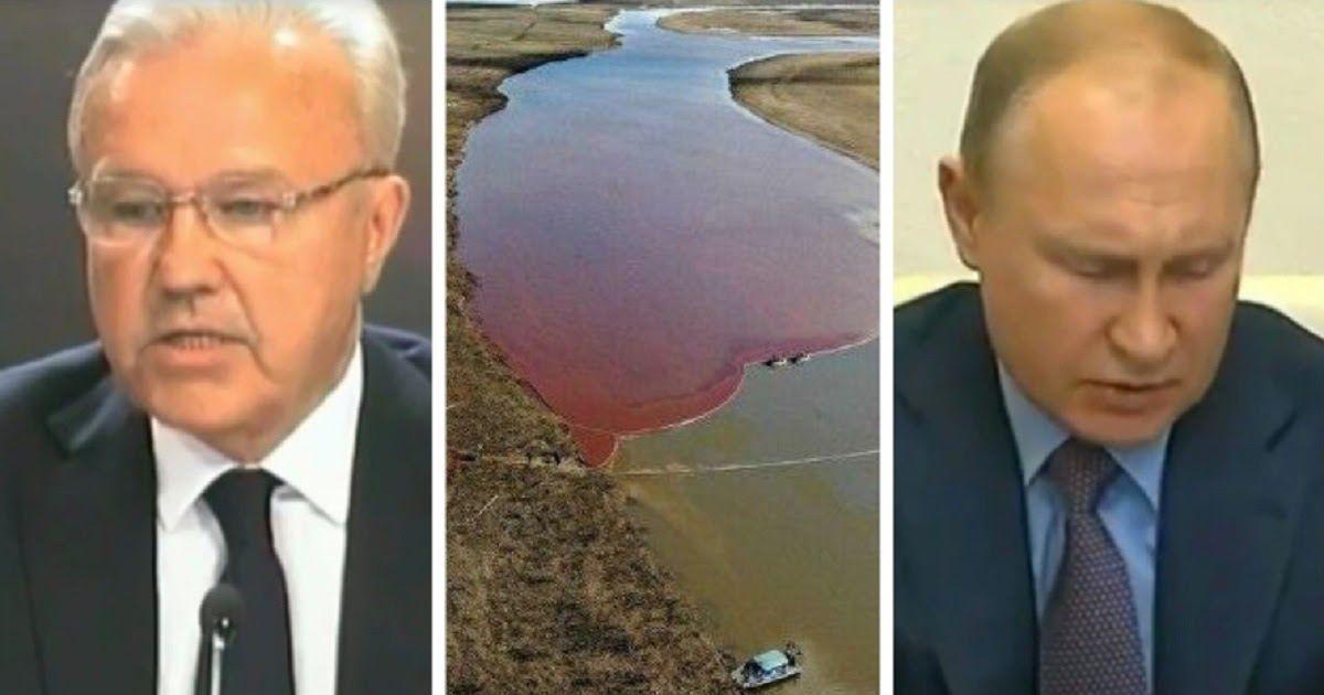 Фото Путин отругал красноярского губернатора за доклад о ЧП в Норильске