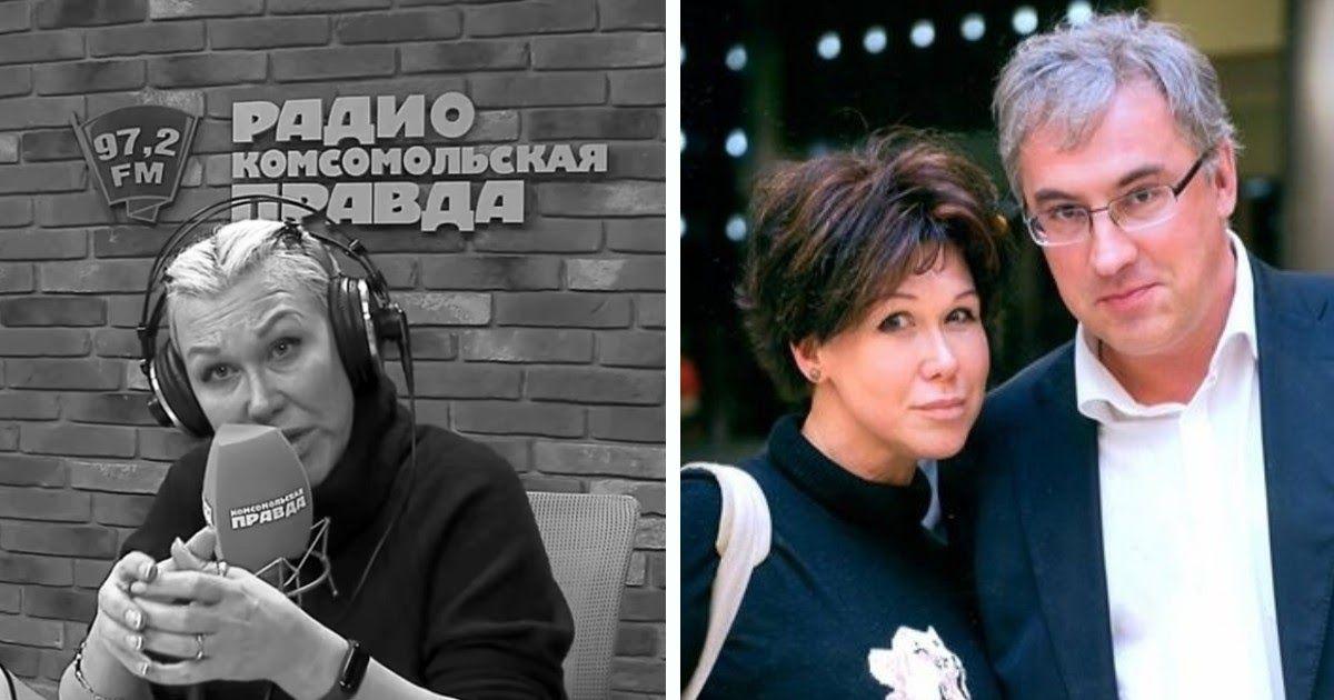 Фото Умepла Юлия Норкина. Жене телеведущего было 52 года