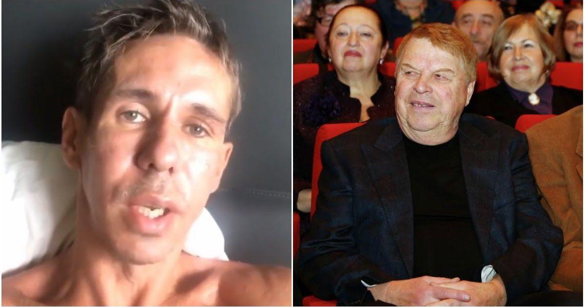 Фото Панин назвал «бездарным» Михаила Кокшенова во время прощания в крематории