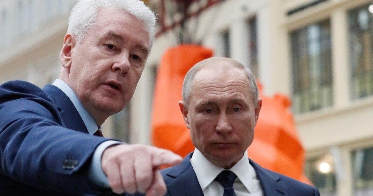 Фото СМИ: Путин лично попросил Собянина снять карантин