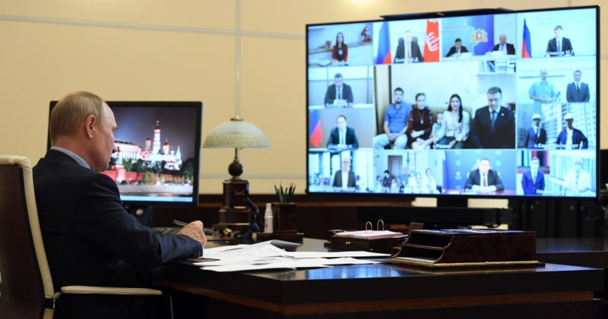 Фото Отец родной. Как Владимир Путин в эфире спасал россиян от кризиса