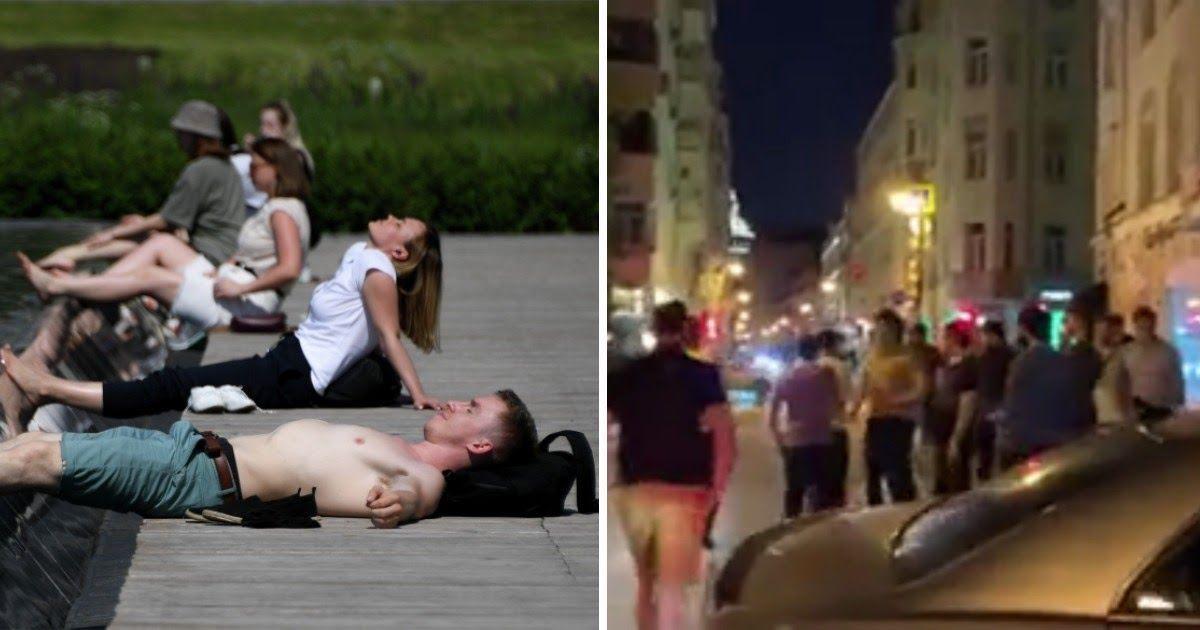 Фото Столица загуляла. Как москвичи наплевали на «собянинский» режим
