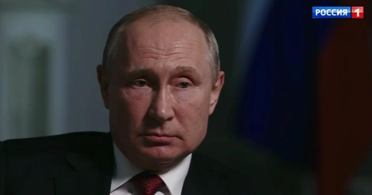 Фото Путин: «я не исключаю», что буду баллотироваться в 2024 году